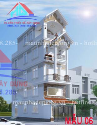 Nhà phố 4 tầng mái thái tại Gò Vấp