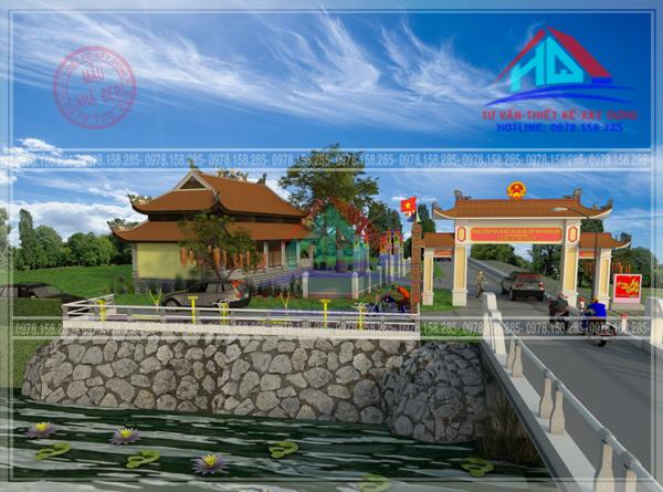 Thiết kế công viên Hưng Nhơn 2-Tây Thành